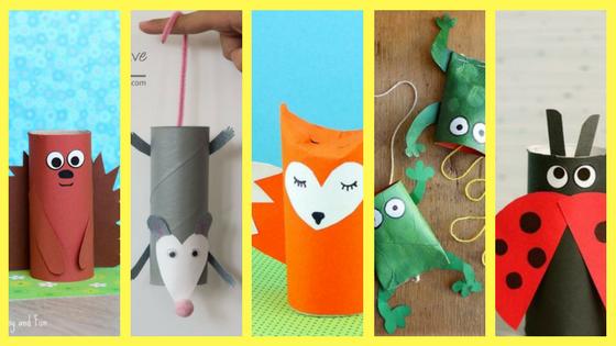 Rotoli Di Carta Igienica : Creare animaletti con i rotoli di carta igienica creare con la