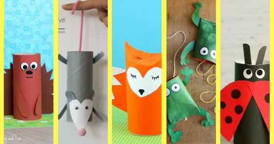 Animali Con Tubi Di Carta Igienica : Animali con rotoli di carta igienica carta