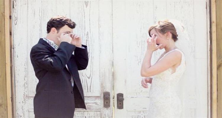 شاهد بالصور رد فعل الازواج عند رؤية زوجاتهم ليلة الزواج