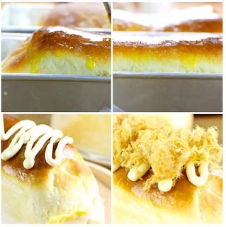 Cách làm bánh mì phô mai tan chảy dùng gelatine 11
