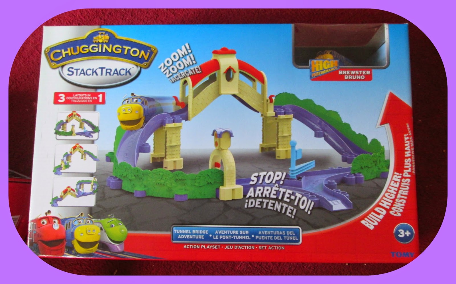 children's and kids train track CBBC Chuggington toy