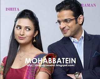 Sinopsis Film Mohabbatein, Film India ANTV