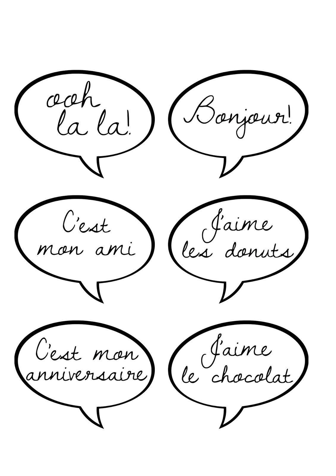 Great Fun etc: *Ooh La La* Paris Party Prep & Printables