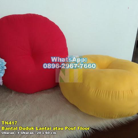 Bantal Duduk Lantai atau Pouf Floor