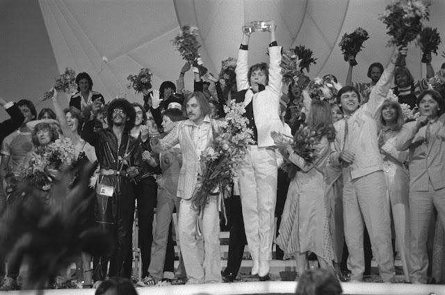Johnny Logan wins Eurovision 1980