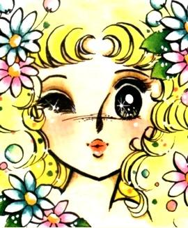 Imagen de Candy cerrando un ojo y mandando un beso