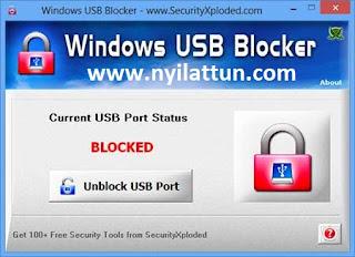 Windows Usb Blocker V3.0 Portable For (32-bit/64-bit)+(5.6 Mb)