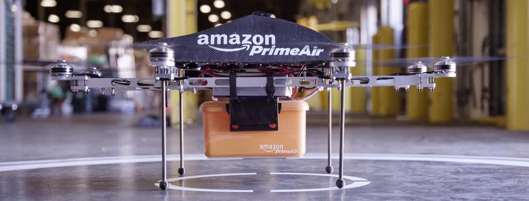 Amazon Drones حقيقة أم خيال؟