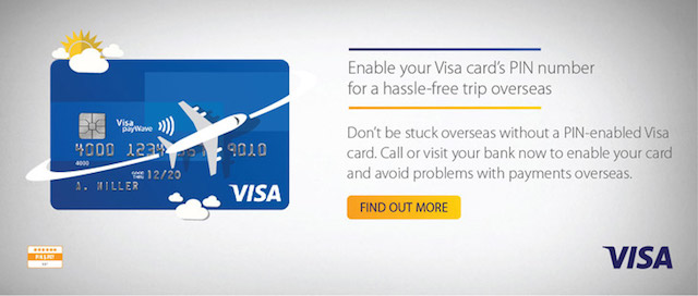VISA PIN & PAY, Enable yours today!