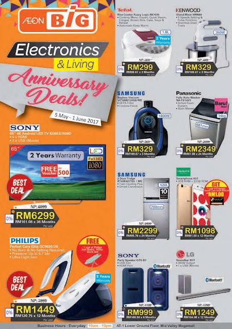 Malaysia AEON BiG Electronics & Living Promotion