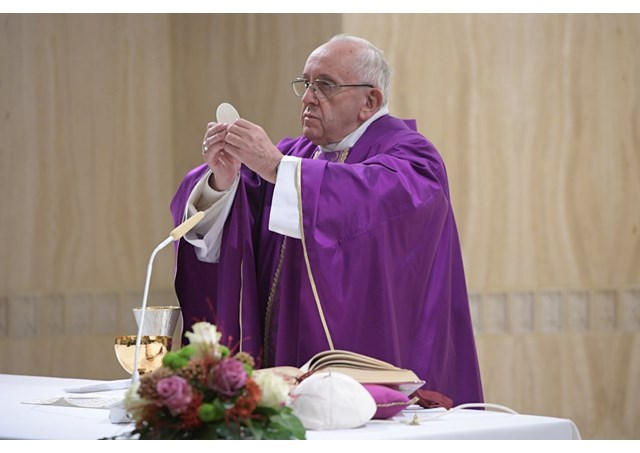 Catholic News World : Pope Francis at Mass says Jesus
