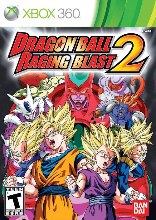 Dragon Ball: Raging Blast 2 (ISO) XBOX 360