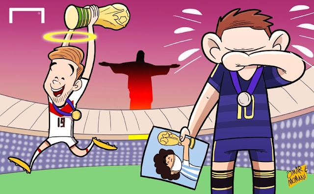 Messi in tears as Gotze wins World Cup