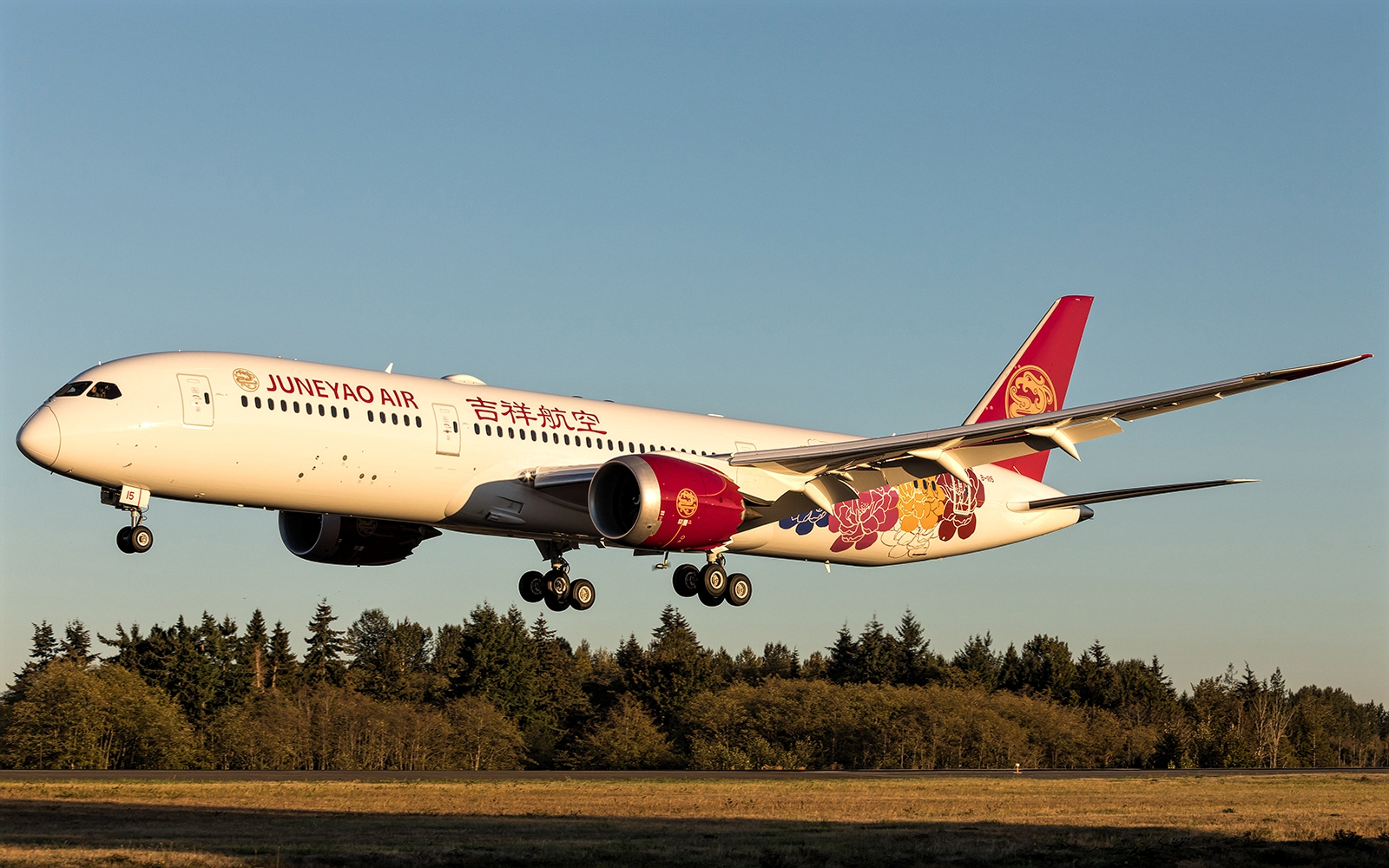 Juneyao Airlines Takes First Boeing 787-9 September 2018 Delivery