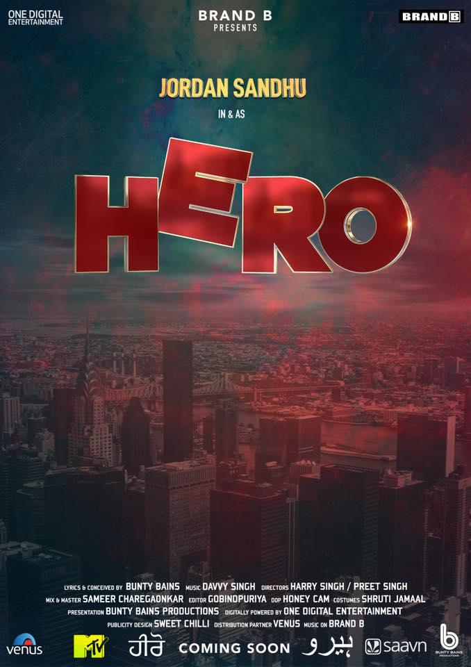 Hero - Jordan Sandhu New Song 2018