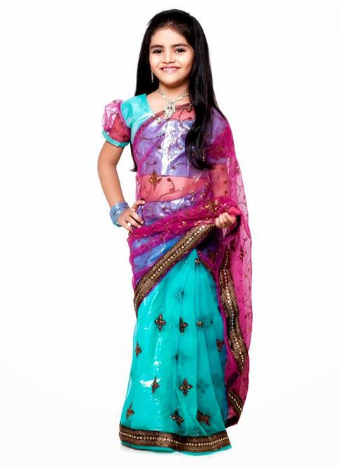 foto baju india anak perempuan