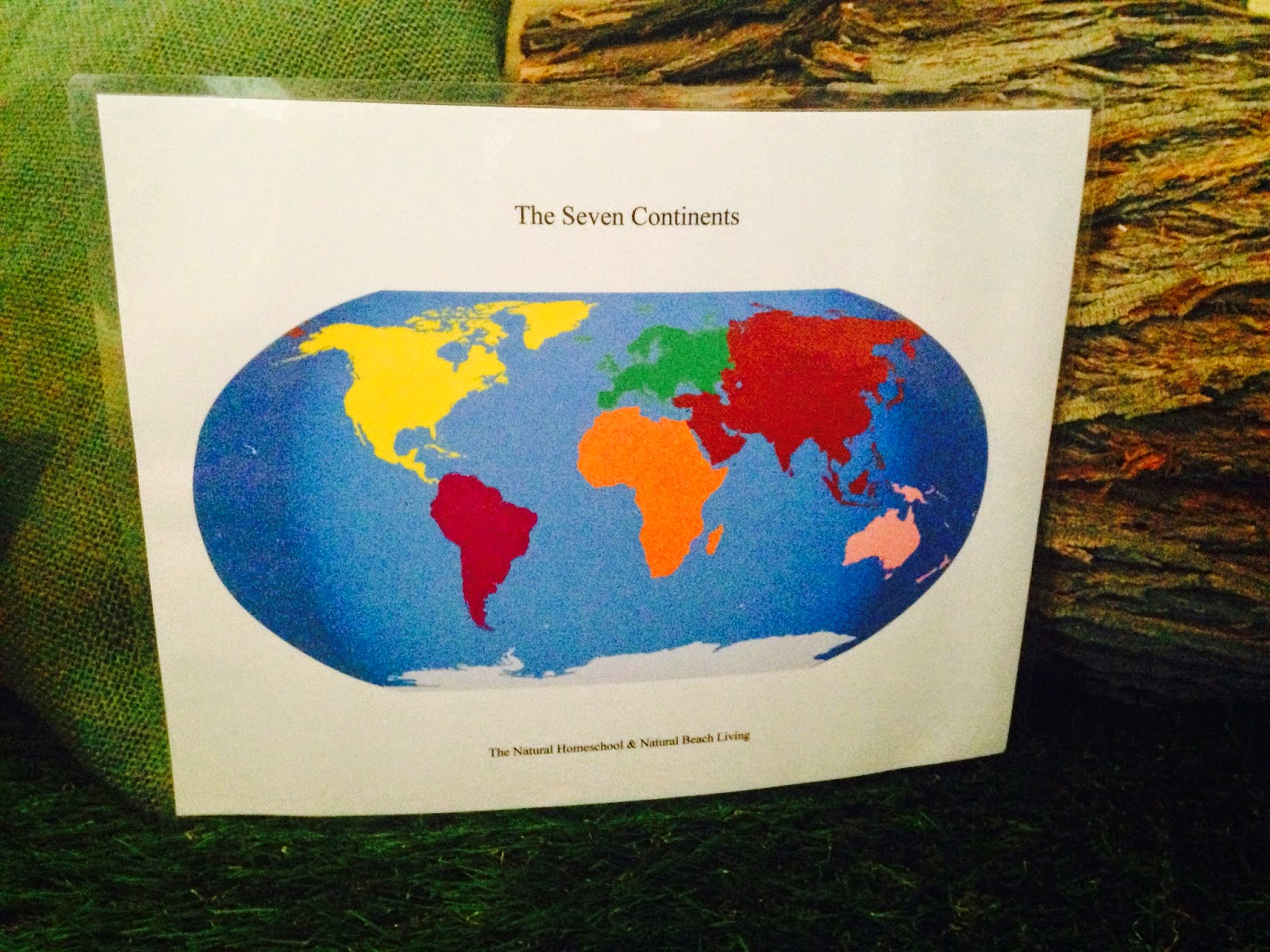 The Natural Homeschool Continent Stu S With Preschoolers Free Printables Included