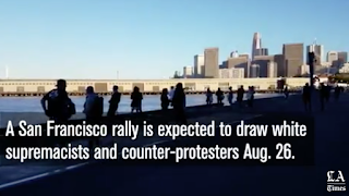 Police vow to 'stamp out' violence at San Francisco rally expected to draw white supremacists