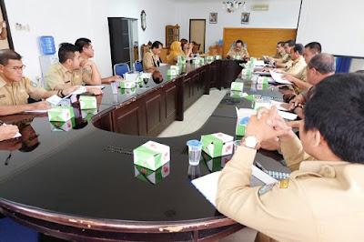 Sekretaris Daerah Kabupaten Sekadau Drs. Yohanes Jhon, MM dalam pemaparannya mengatakan Praktek Lapangan II Praja IPDN akan dilaksanakan di kabupaten sekadau