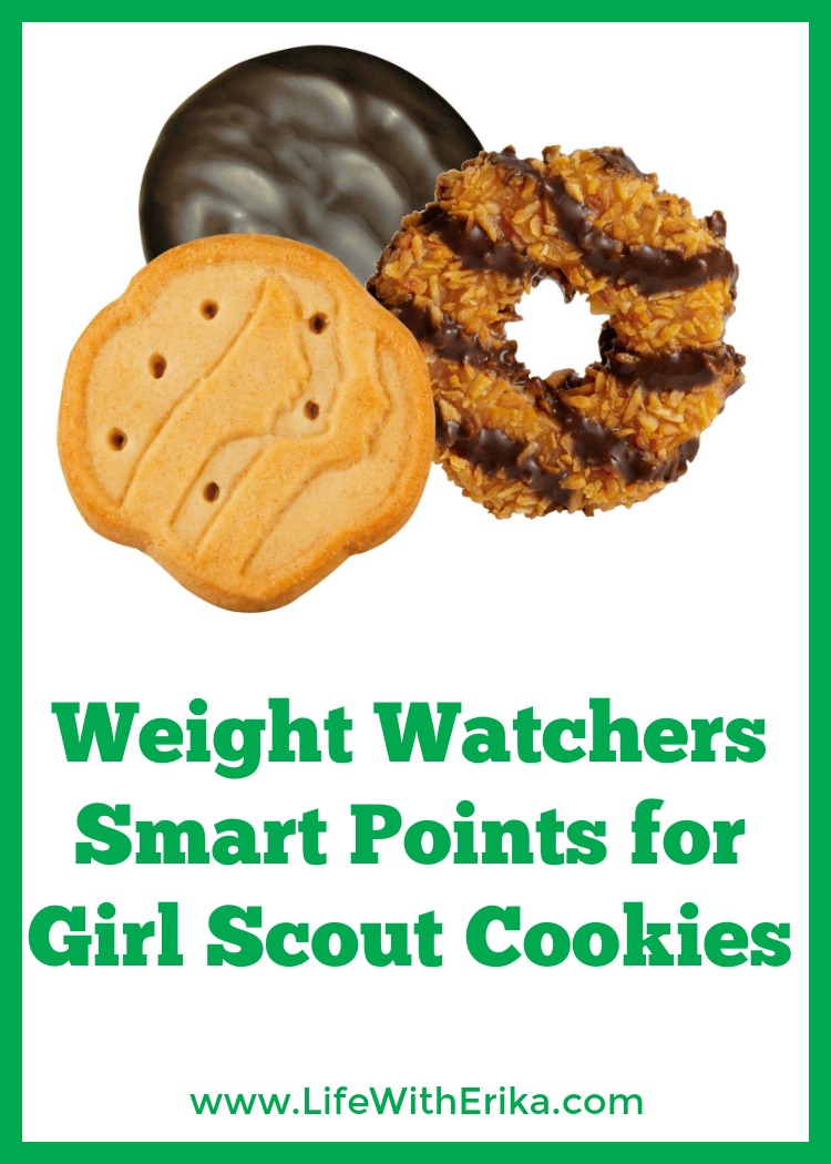 life with erika weight watchers smart points for girl scout cookies. Black Bedroom Furniture Sets. Home Design Ideas