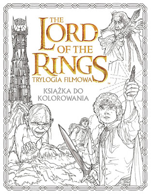 """The Lord of the Rings. Trylogia filmowa. Książka do kolorowania"""