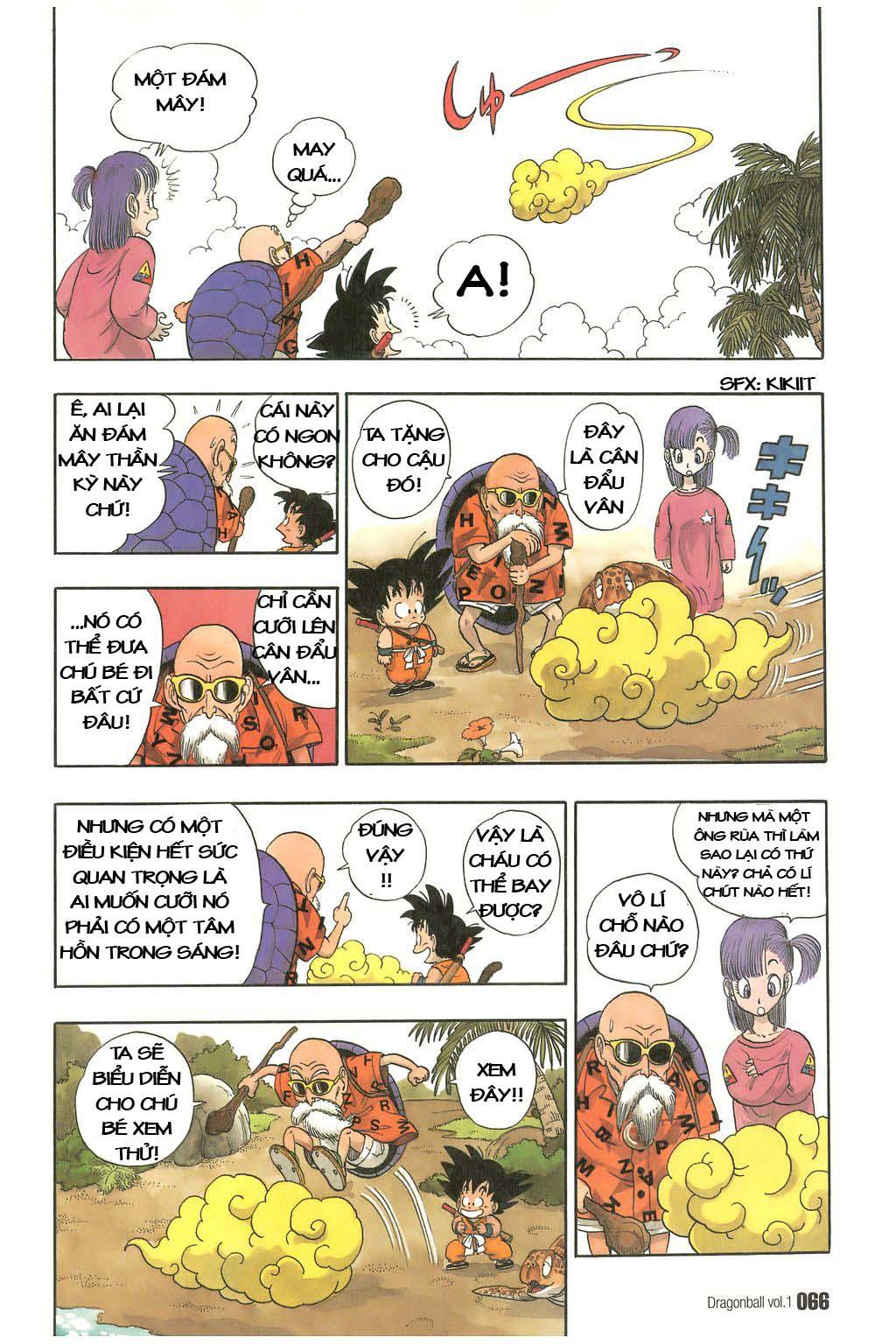 7 Viên Ngọc Rồng - Dragon Ball chap 4 Kintoun của Kamesenin | Truyện tranh  online | truyen tranh hay | đọc truyện tranh hay | truyện đẹp | truyện hot