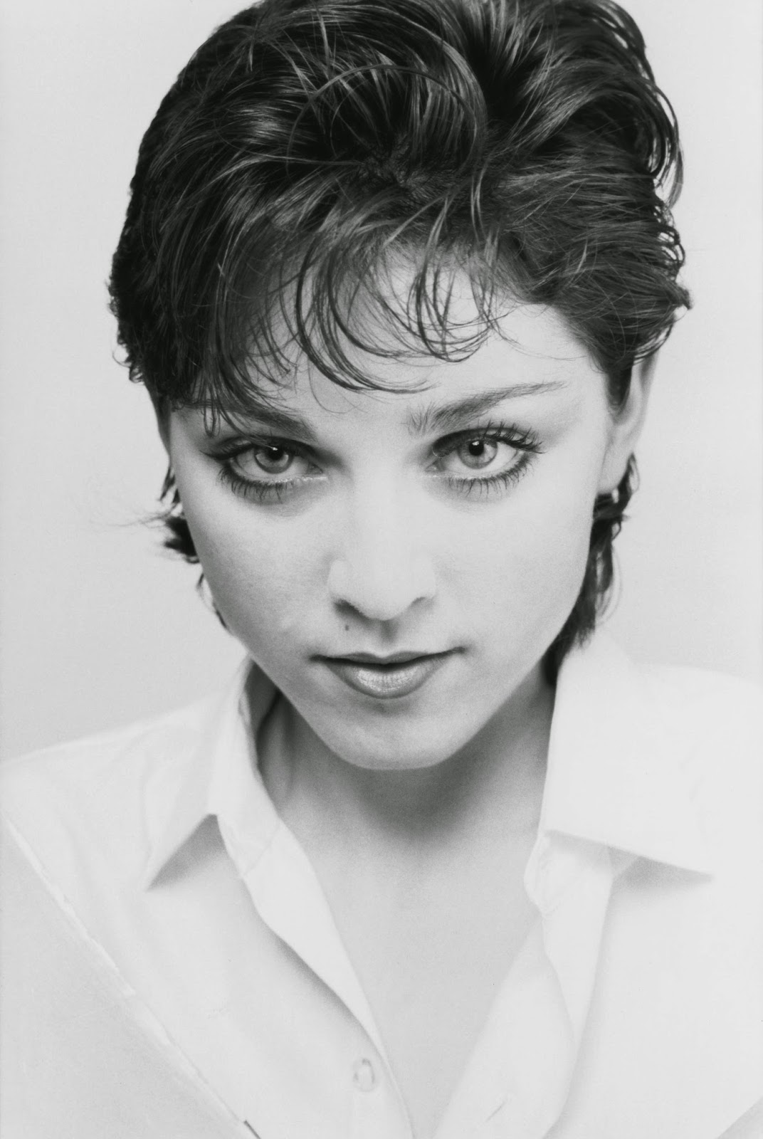 An Unknown Called Madonna Fascinating B Amp W Photoshoots Of
