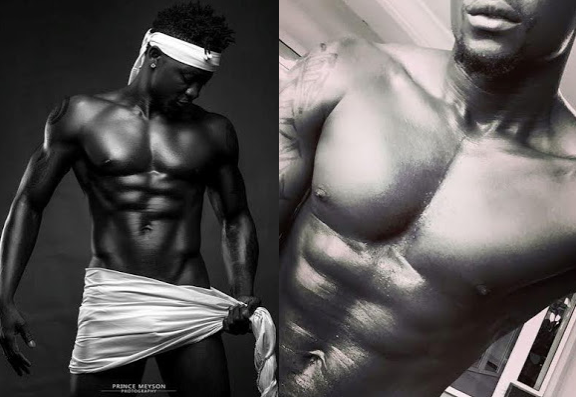 1 Photo: Singer Selebobo shows off his abs
