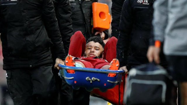 Cedera Lutut, Oxlade-Chamberlain Terancam Absen di Piala Dunia