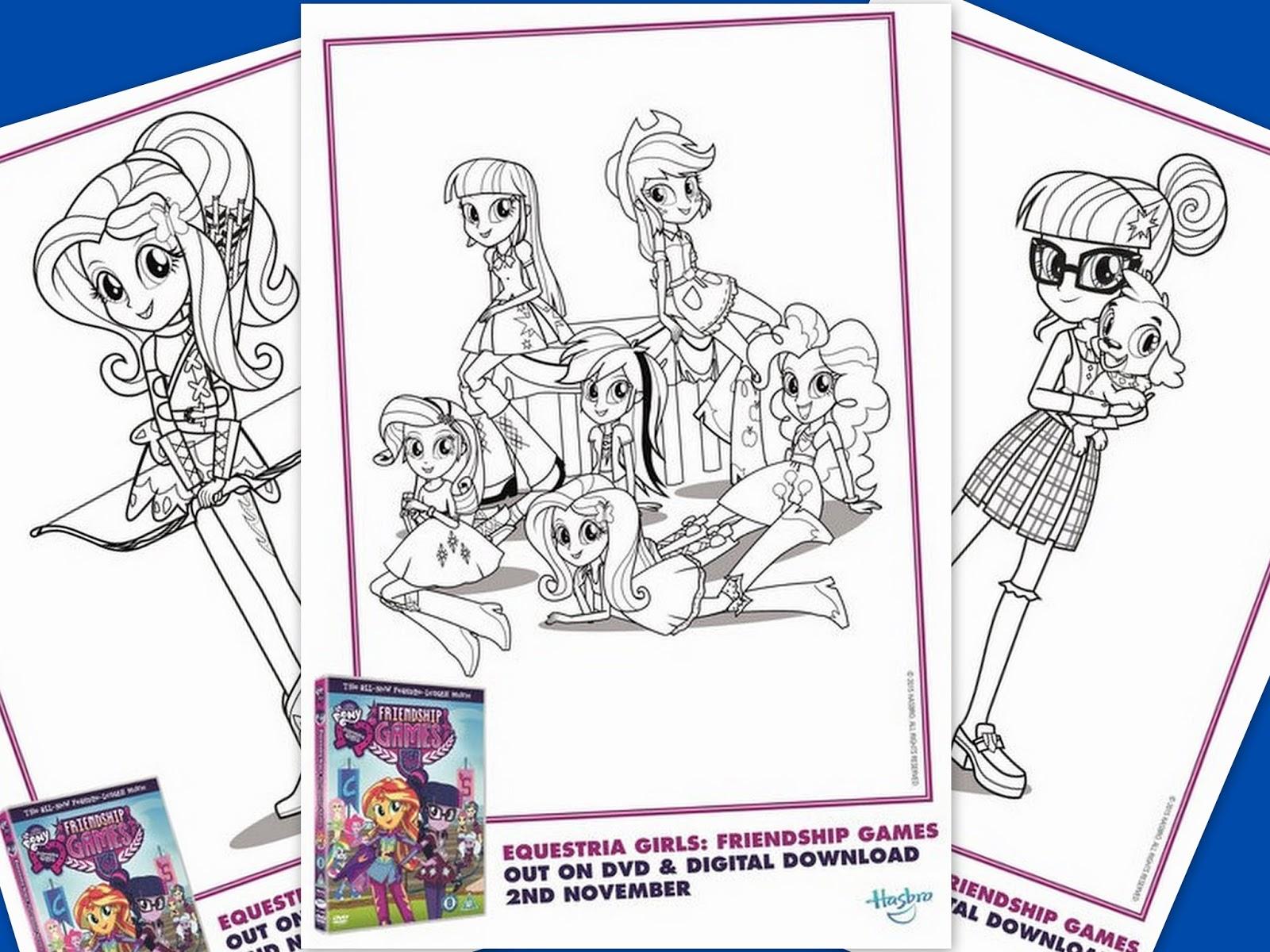 The Brick Castle Equestria Girls Rainbow Rocks And Friendship Games 2 Movie Dvd Box Set Review