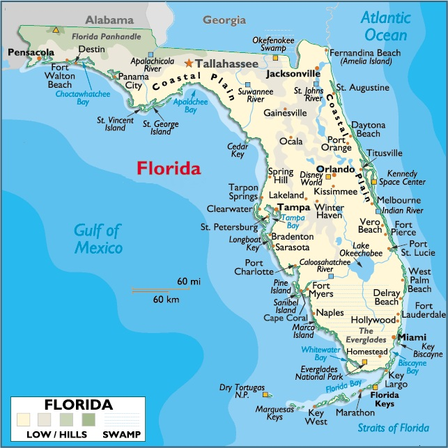 Fort Walton Florida Map Map Of Florida Fort Walton Beach | Florida Map 2018
