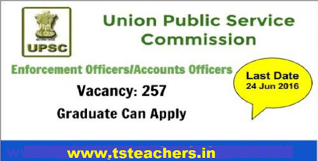 UPSC Recruitment 2016 for Enforcement Officer/ Accounts Officer, Apply before 23 June @upsc.gov.in|Union Public Service Commission| Provident Fund Organisation, Ministry of Labour & Employment. /2016/06/upsc-recruitment-2016-for-enforcement-officer-accounts-officer-union-public-service-commission.html