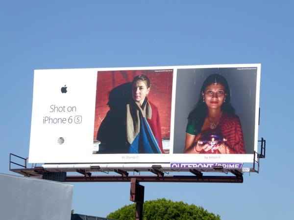 Shot on iPhone 6s Zeynep O Ashish P billboard