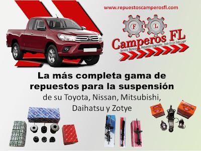 Repuestos Suspension Toyota Hilux