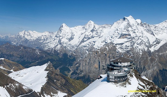 Schilthorn and Piz Gloria Switzerland