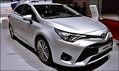 2017 Toyota Avensis Price and Spec