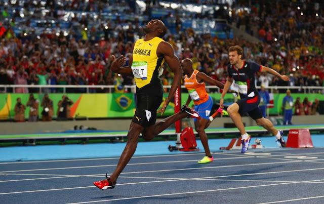 Usain Bolt cerró su carrera olímpica con su tercer triplete dorado consecutivo