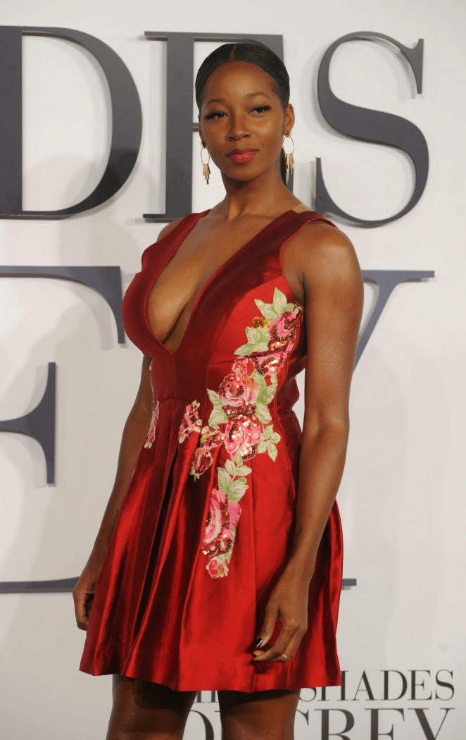 """Jamelia – """"Fifty Shades Of Grey"""" Premiere in London"""