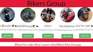 Bikes For sale-Bike Lovers-Modified Bike Groups