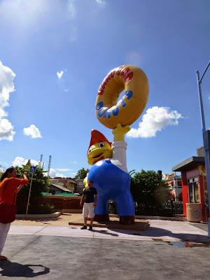 Krustyland Simpsons Universal Studios Orlando Floride