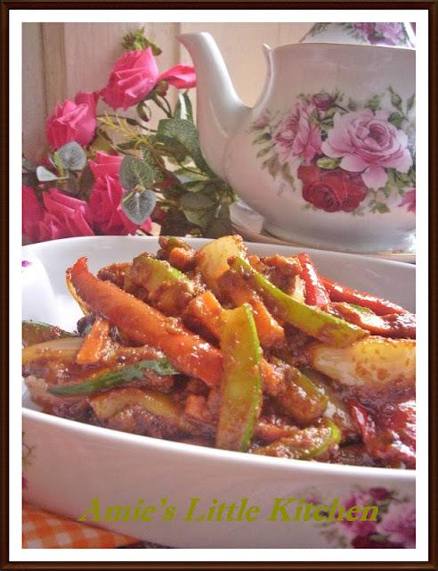 Resepi Nasi Tomato Ayam Masak Merah Acar Timun