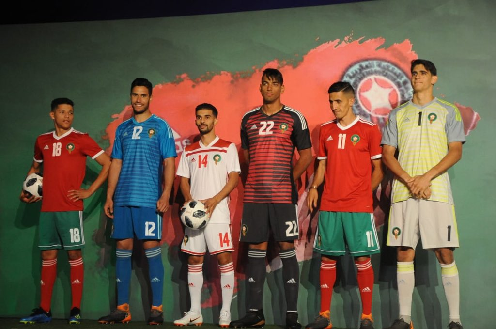 Morocco 2018 World Cup Home Amp Away Kits Revealed Footy
