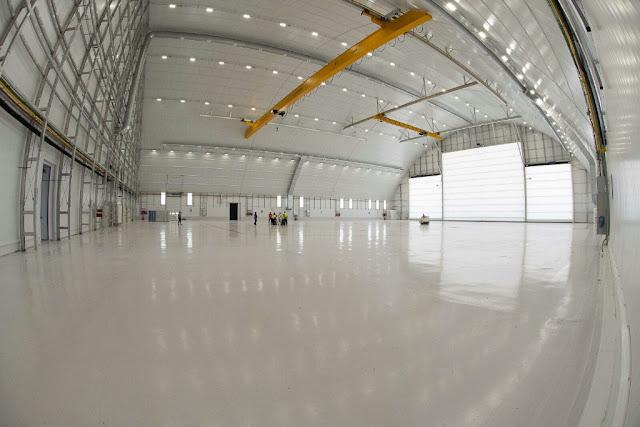 La Base Aérea de Zaragoza ya tiene listos los nuevos hangares para el  A400M