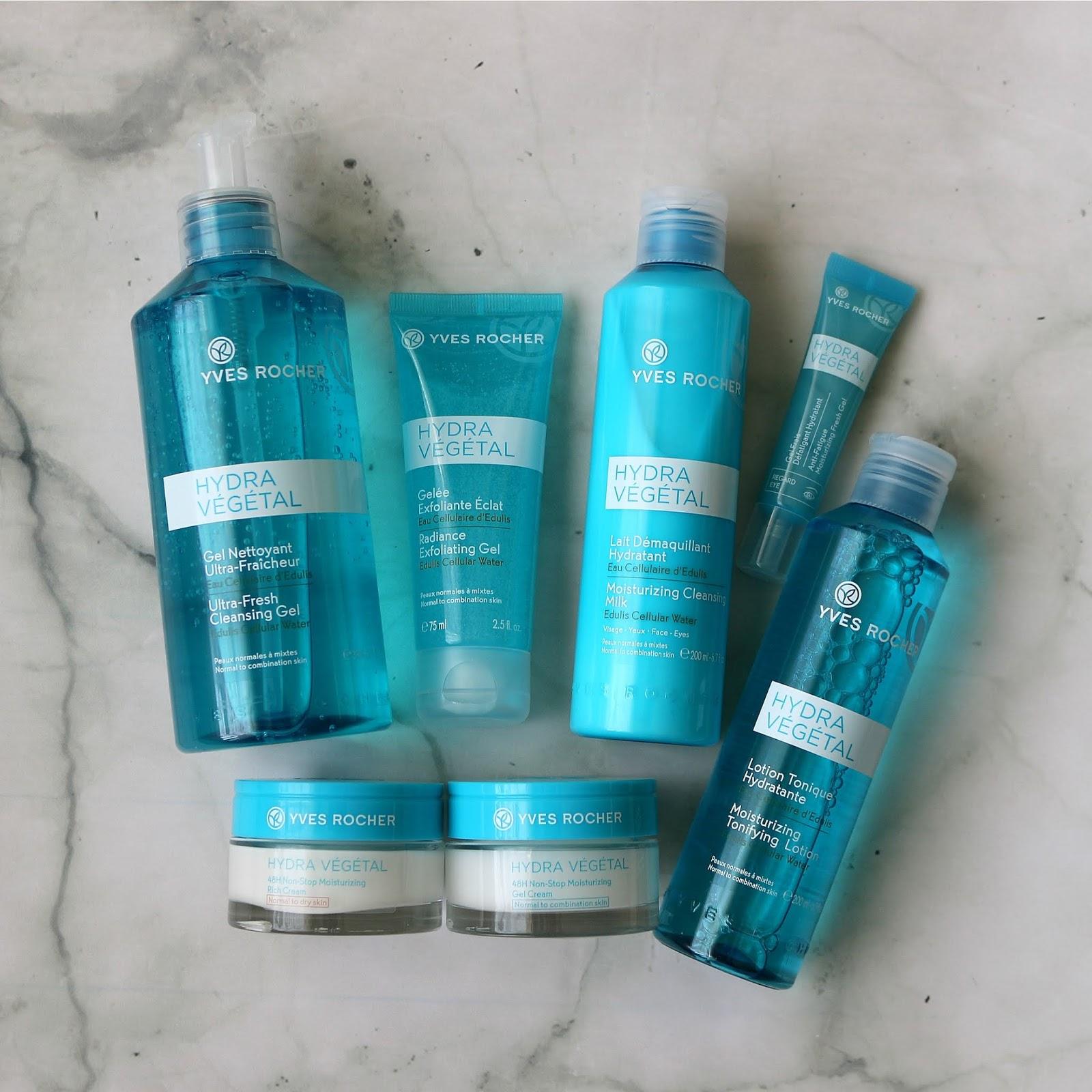 Yves Rocher Hydra Vegetal Skincare