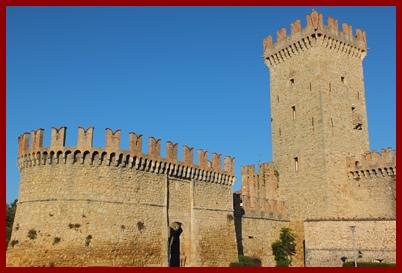 Vigolino Castle & Town  Piacenza Province Italy