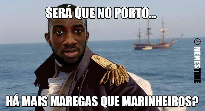 GIF Memes Time, da bola que rola e faz rir - O Porto precisa mais de Moussa Marega, do que Moussa Marega precisa do Porto – Será que no Porto...  há mais Maregas que Marinheiros?