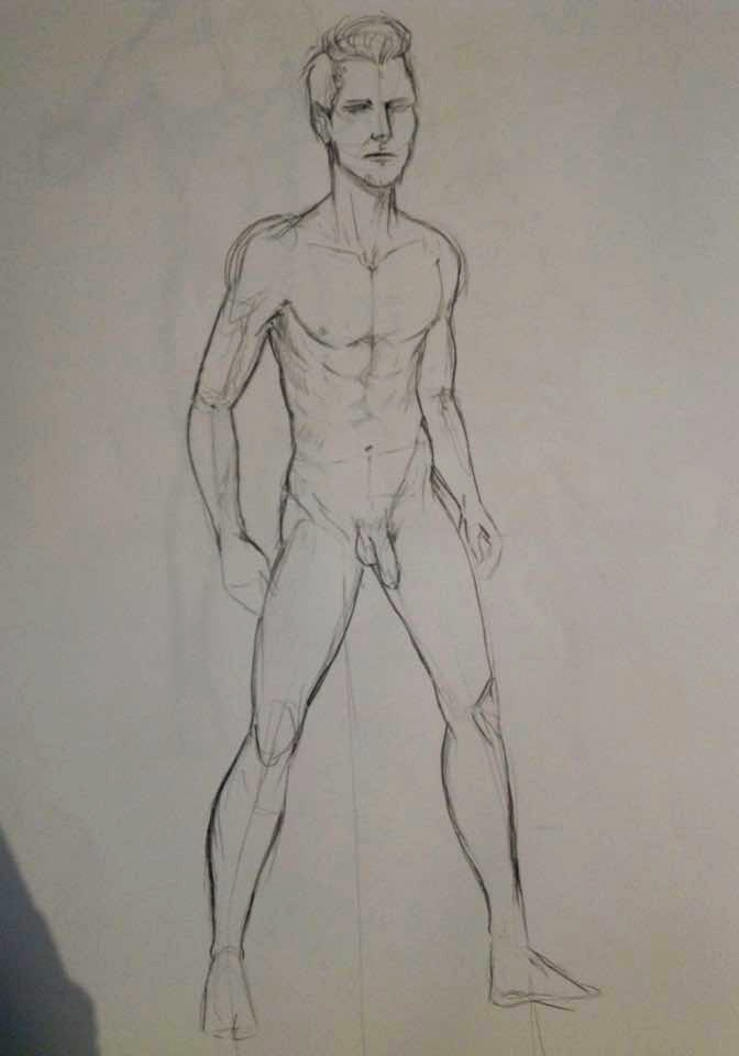 How To Draw A Nude Man 38