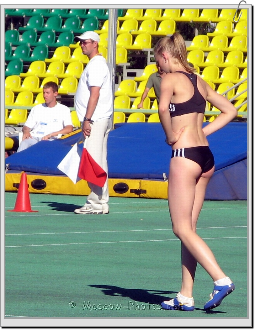 Preparation for the high jump