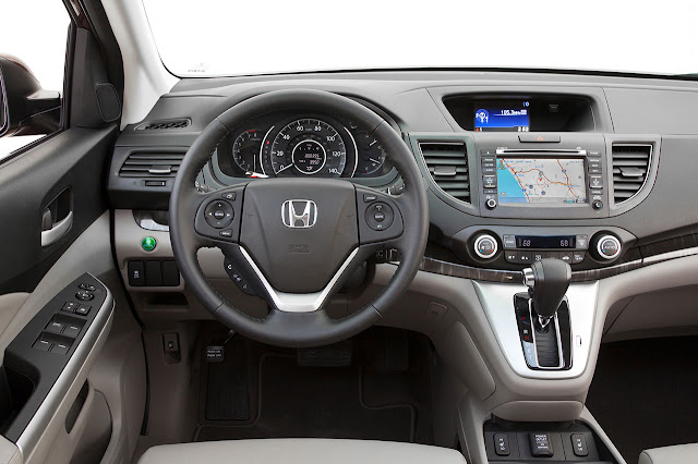 2012 Honda CR-V interior