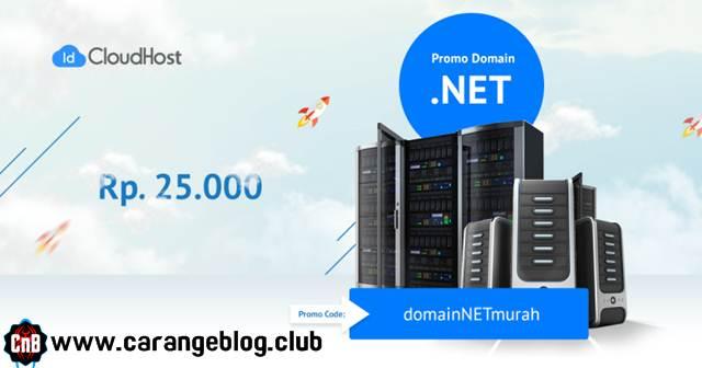 Domain .NET Rp.25.000 STOCK TERBATAS, Promo Domain NET Gratis dan Termurah dari IDCloudHost Oktober 2016